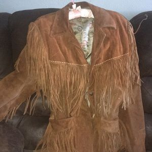 jo o kay Jackets & Coats - Vintage unisex leather coat